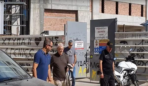 Επιθεώρηση Μελισσανίδη στο ΝΑΟ (video)