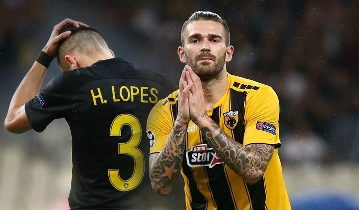 Marko Livaja and the missed opportunities with A.E.K.