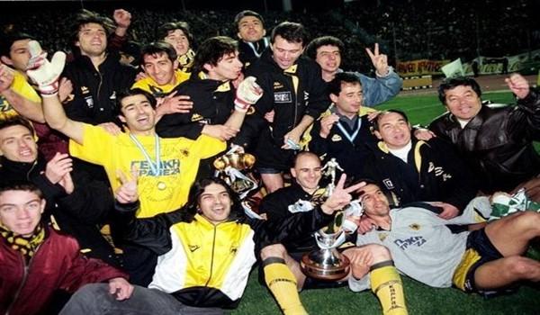 Η ΑΕΚ είναι Κυπελλούχος Ελλάδος για το 1997 (video)