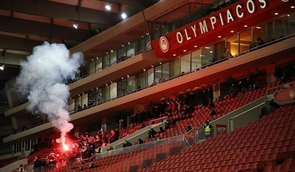 """Ποινή – χάδι στον Ολυμπιακό για τον τραυματισμό αστυνομικού στο """"Γεώργιος Καραϊσκάκης"""""""