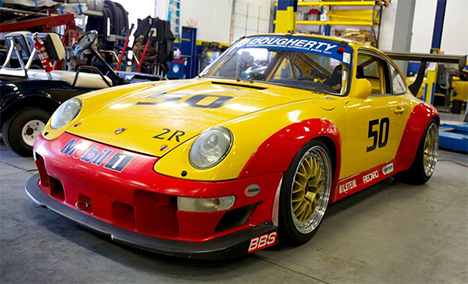Dougherty Automotive services Porsche Track cars