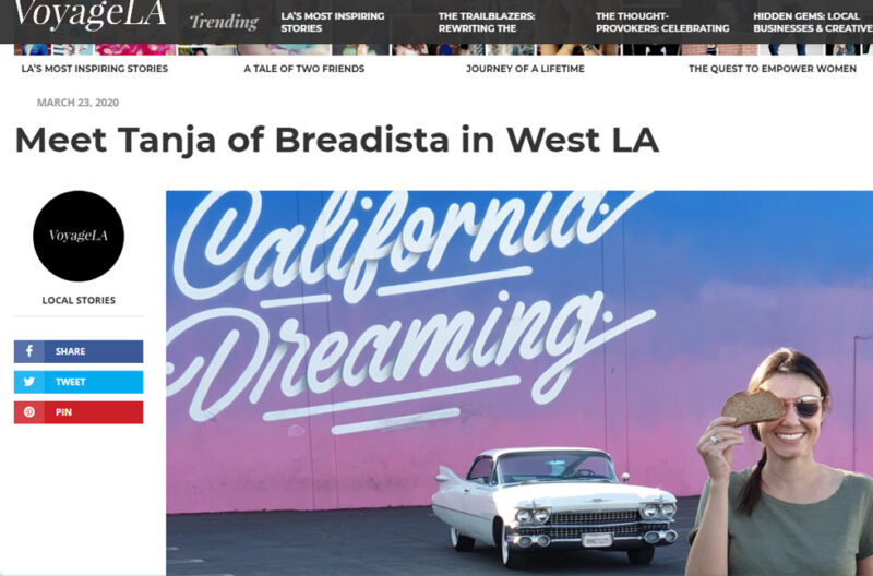 Interview with Tanja of Breadista