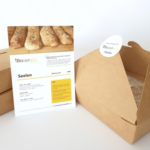 set of baking kits for typical German Seelen