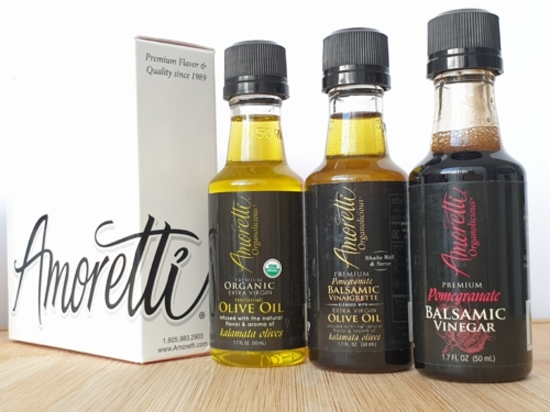 Amoretti 3pc oil set in May baking box
