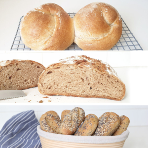 Bread baking sets for bread and bread rolls - Set of 3