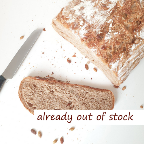 Pumpkin Seed Bread - out of stock