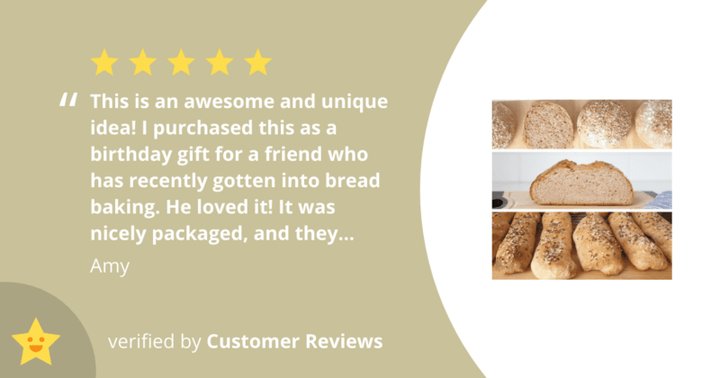 BREADISTA reviews - bread making kits