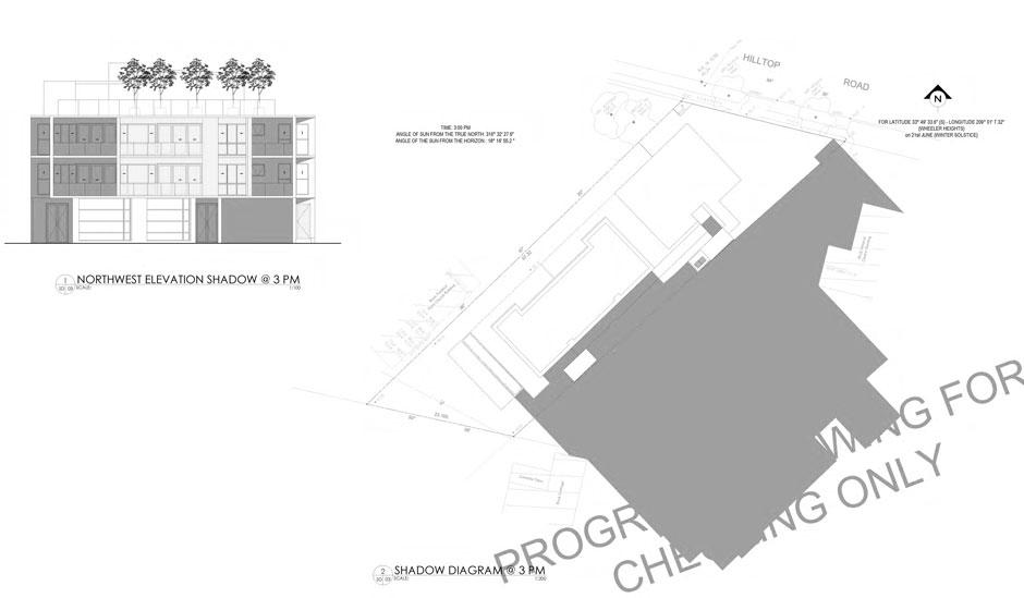 Shadow Diagram | Apartment