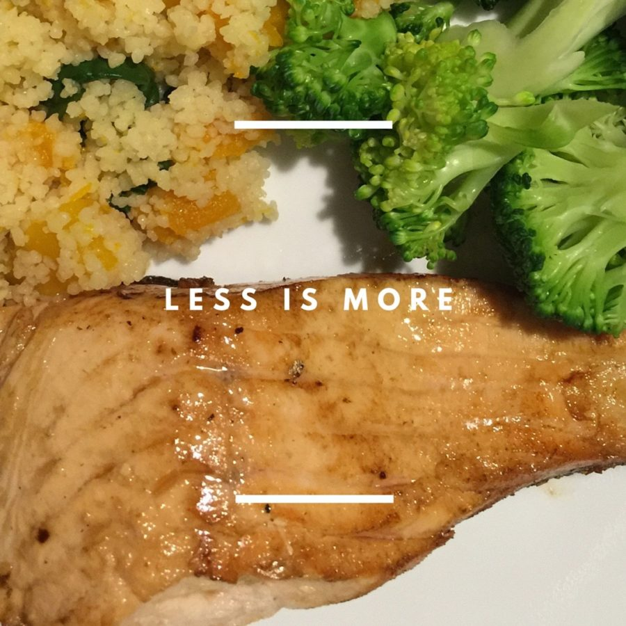 Eat less, more often