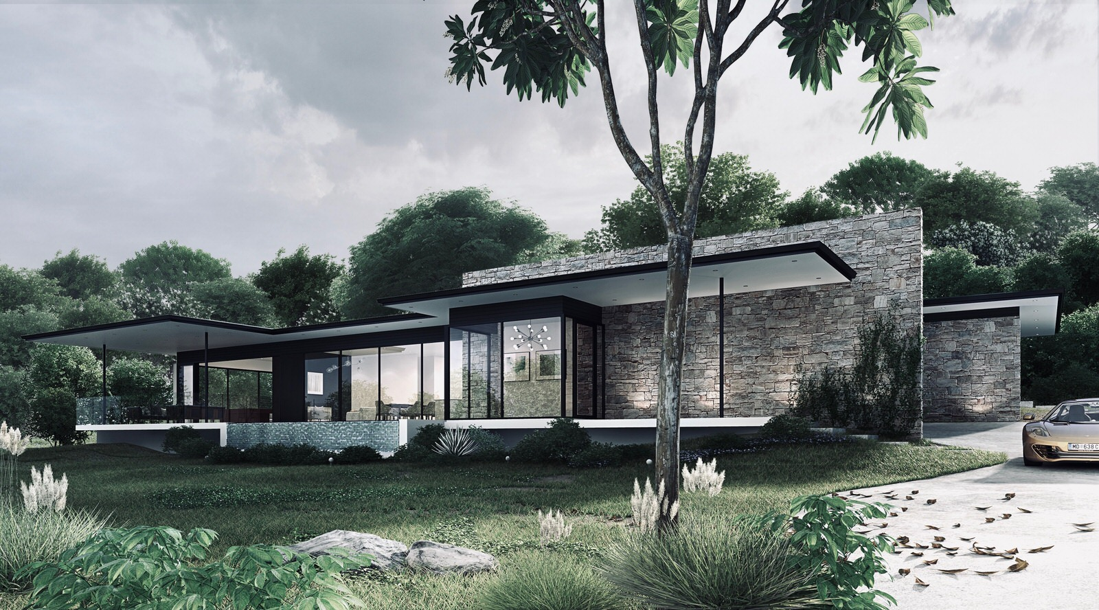 Modern House Brookfield