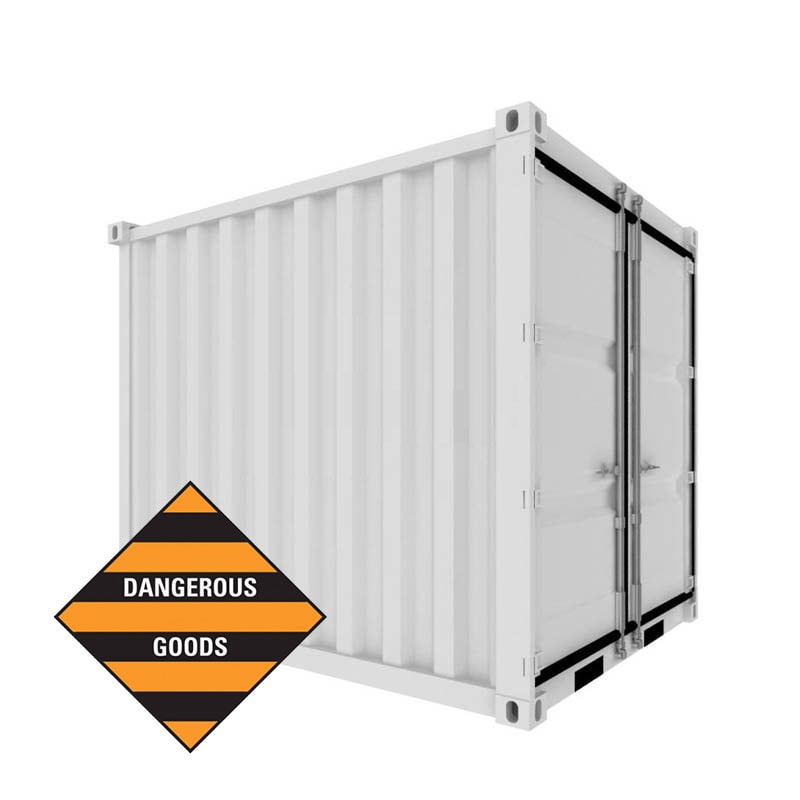 10ft Dangerous Goods (DG) Container