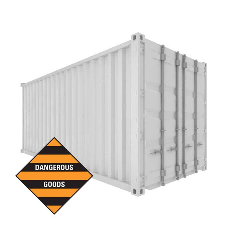 20ft Dangerous Goods (DG) Container