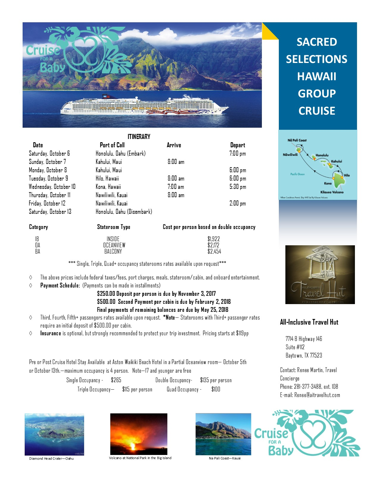 Join Sacred Selections in Hawaii