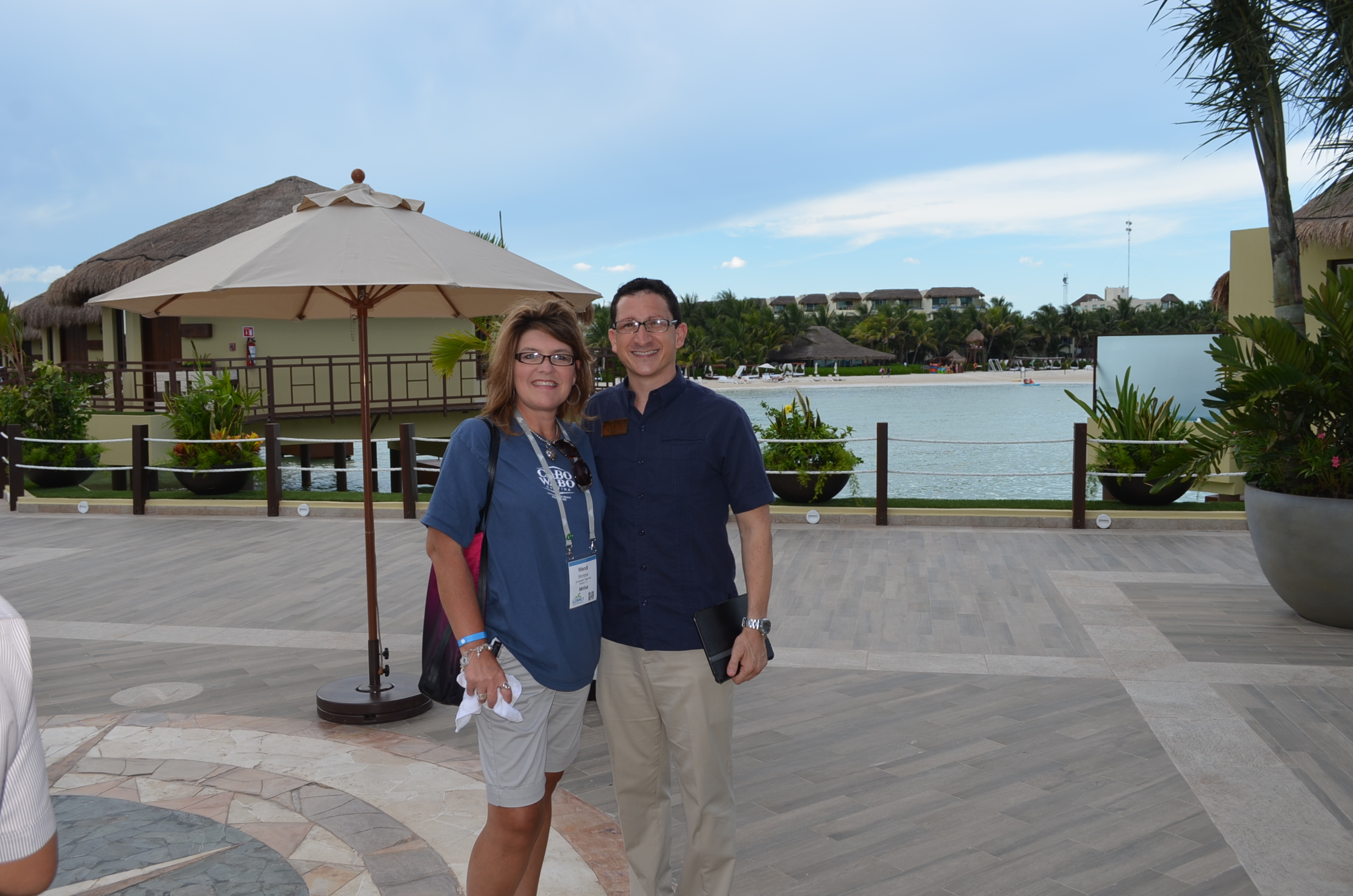 On Site of the New Over the Water Palafitos in Mexico