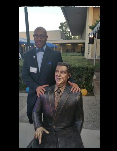 Dr. Karnig - Legacy Fountain CSUSB