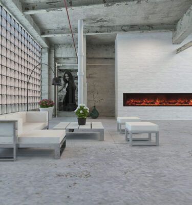 Electric Fireplace Super Size