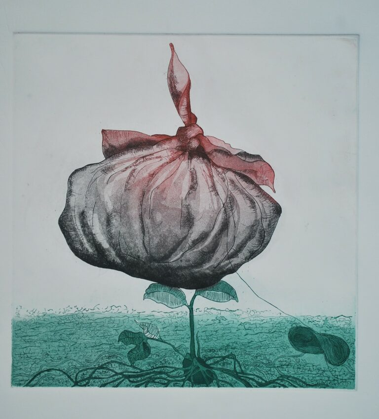 Titled: Memories Size: 10 x 10 inch Medium: Etching Year: 2015