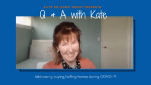 Kate Soldano Covid-19 Interview Cover Art