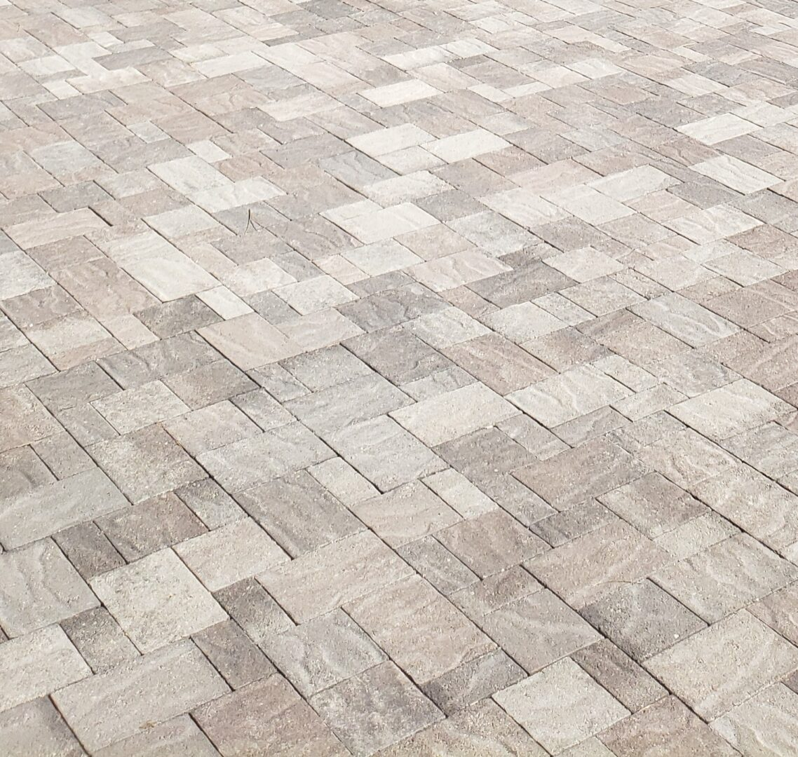 pavers close up