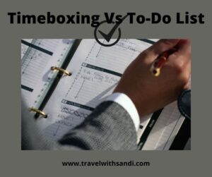 Timeboxing vs to-do list