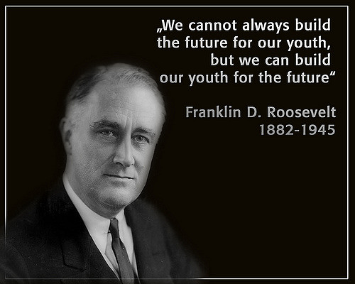 FDR build our youth