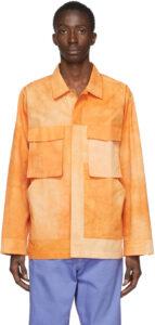 Orange 'La Chemise Soleil' Shirt (Jacquemus)