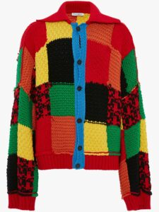JW Anderson Colourblock Patch Cardigan