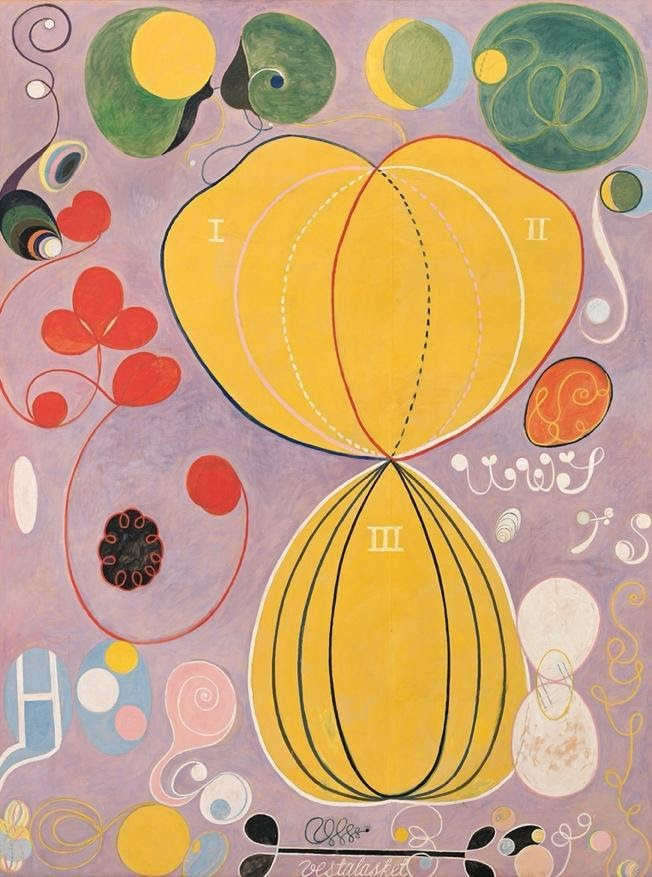 Hilma Af Klint, The Ten Largest, No. 4