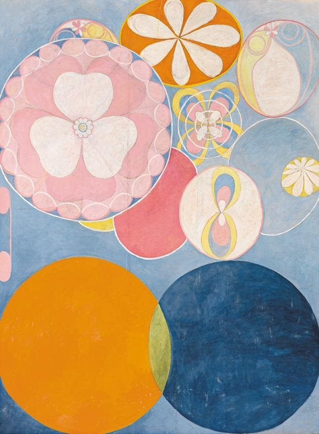 Hilma Af Klint, The Ten Largest, No. 2