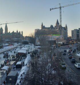 Ottawa Rideau Canal Winter