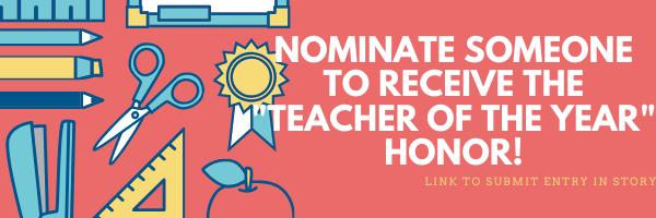 Nominate a Teacher for Maine Teacher of the Year!