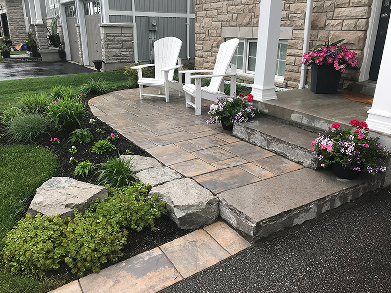 Interlock Stone walkway 2