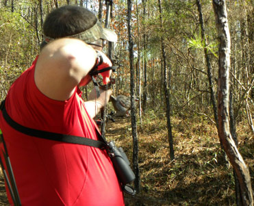 Bennett's Archery outdoor range
