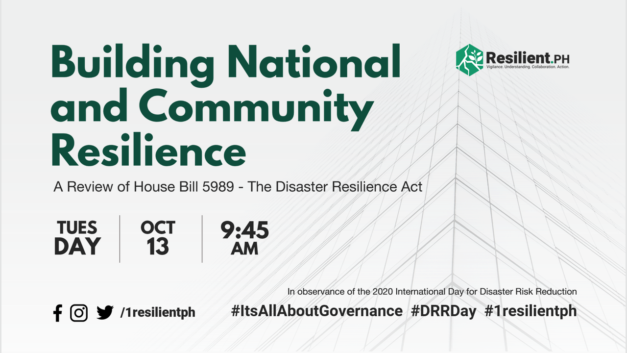 Building National and Community Resilience