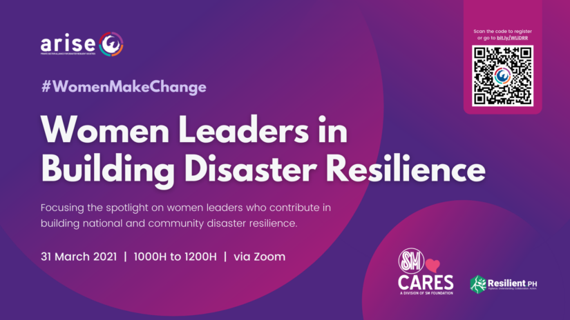 Women Leaders in Building Disaster Resilience