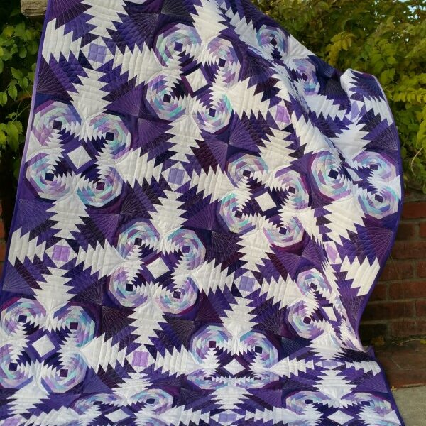 A Tarted Up Pineapple quilt