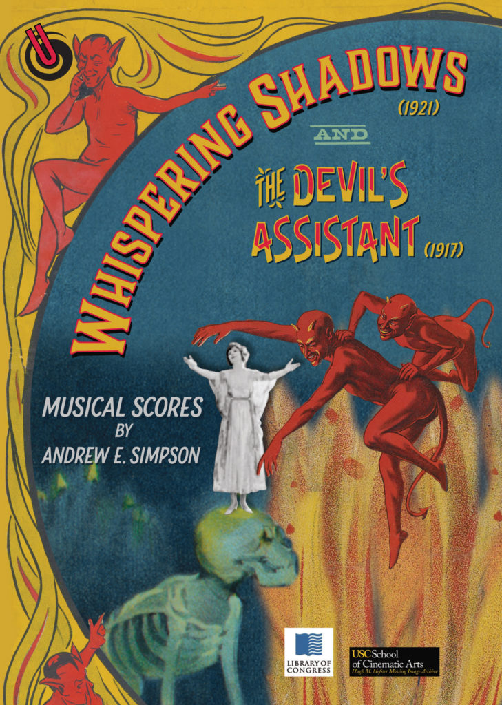Whispering Shadows & The Devil's Assistant DVD