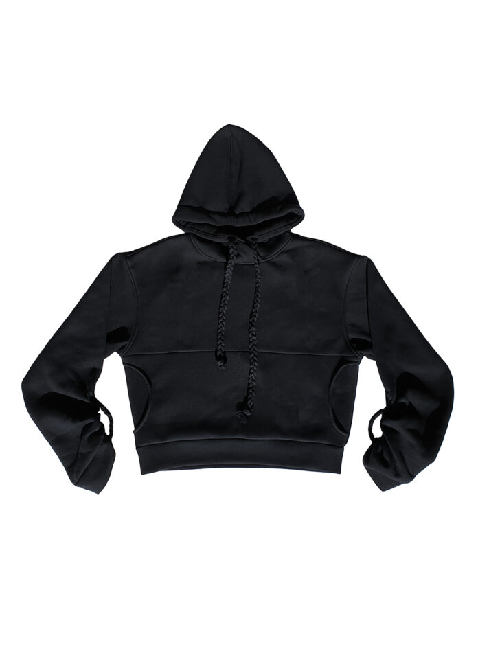 Pull Hoodie Pulled Front
