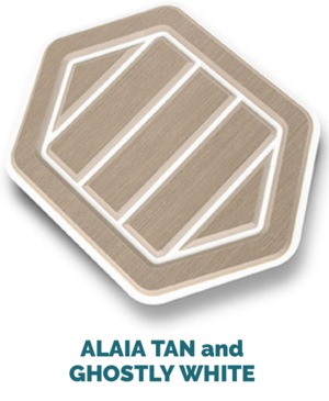 alaila tan and white