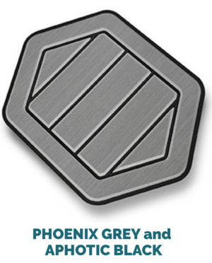 phoenix grey and black
