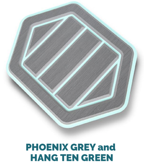 phoenix grey and hang ten green