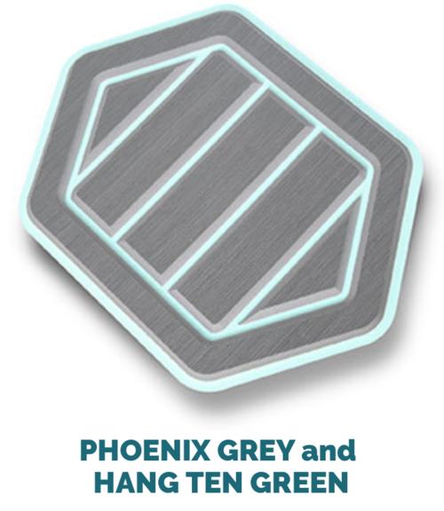 phoenix grey and hang ten green