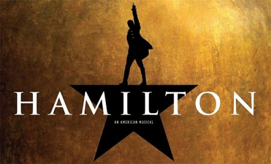 "'""Hamilton"" closed in chicago in January 2020 (Photo courtesy of Broadway in Chicago and 'Hamilton.')"
