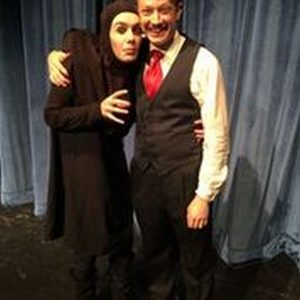 "Parker Guidry (Igor) and Nick Miller (Dr. Frankenstein) in Lake Forest Theatre's ""Young Frankenstein"