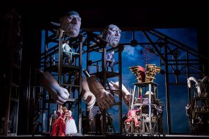 Richard Wagner's Das Rheingold now at the Lyric Opera of Chicago. Todd Rosenberg Photography