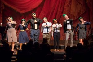 "Cast of ""Longer Louder Wagner"" Photo by Todd Rosenberg"