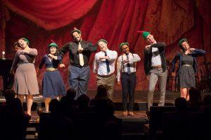 """Cast of """"Longer Louder Wagner"""" Photo by Todd Rosenberg"""