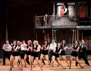 """""""Cast of Crazy for You"""" at Drury Lane Theatre"""