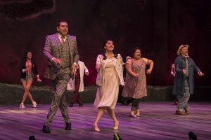 Cast of 'Destiny of Desire' at Goodman Theatre. Photo by Liz Lauren