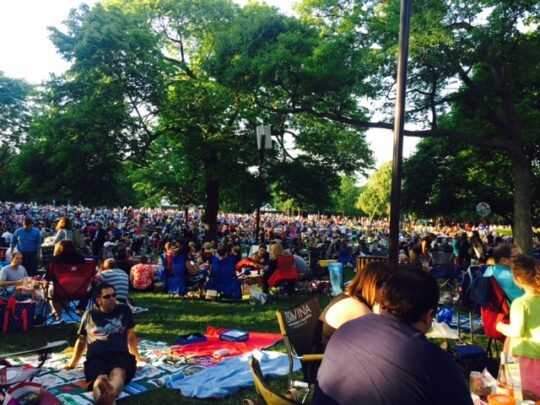 Picnic at Ravinia Festival (Jodie Jacobs photo)